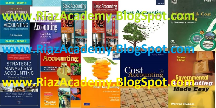 ACCOUNTING BOOKS FREE DOWNLOAD