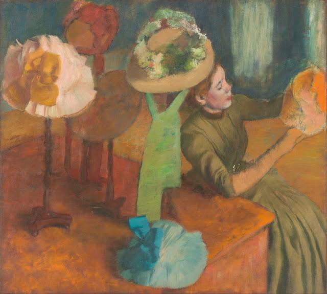 Эдгар Дега - Магазин дамских шляп (1879-1886)