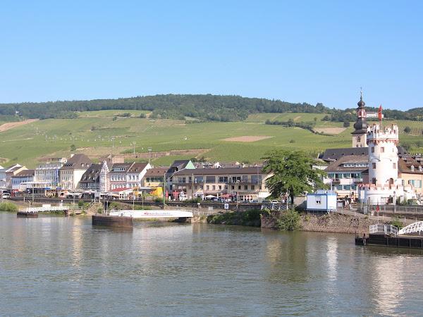 Viking Rhine River Cruise: Rudesheim, Germany