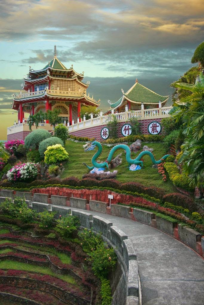 10 Most Famous Travel Destinations In Philippines | Cebu Taoist Temple, Beverly Hills Subdivision, Cebu City, Philippines