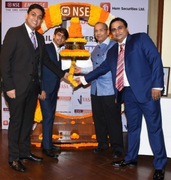 VASA Retail and Overseas Ltd Shares gets listed at NSE Emerge platform at 20% premium
