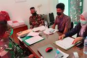 Denzibang 1/Stg terima Kunjungan dari BP2P Kalimantan 1, Dirjen Perumahan Kementerian PUPR