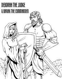 deborah judges bible coloring pages | Eccles is saved: Judges