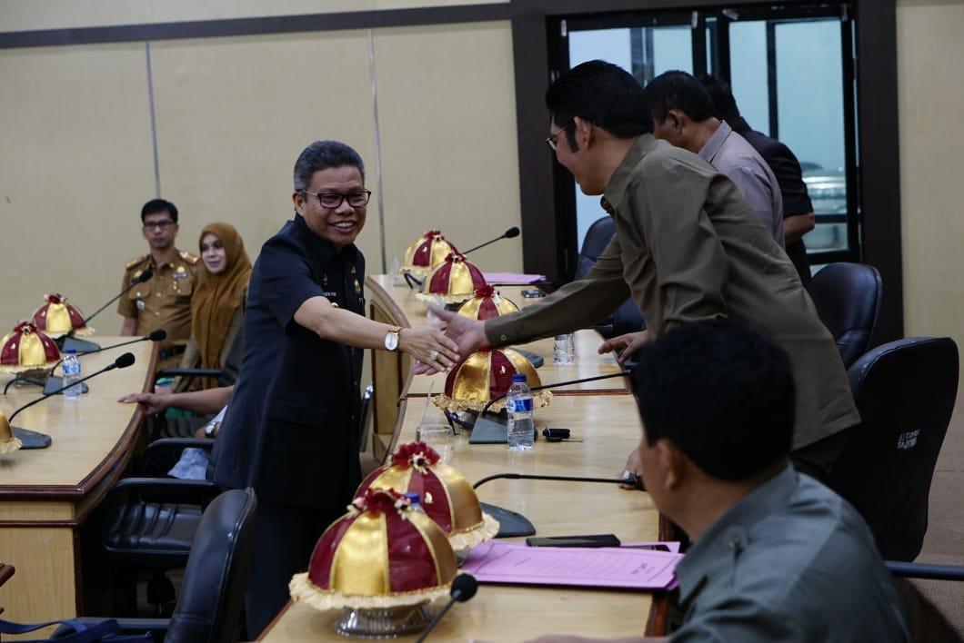 DPRD Parepare Gelar Rapat Paripurna Persetujuan Perubahan APBD Tahun Anggaran 2019
