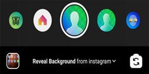 Cara Membuat Video Story Instagram Dengan Background Video Menggunakan Efek Filter 'Reveal Background'