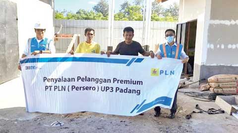 Penyalaan Pelanggan Premium PLN UP3 Padang