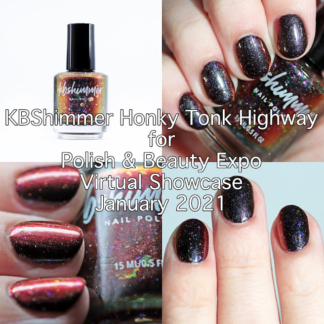 KBShimmer Honky Tonk Highway for Polish & Beauty Expo Virtual Showcase January 2021