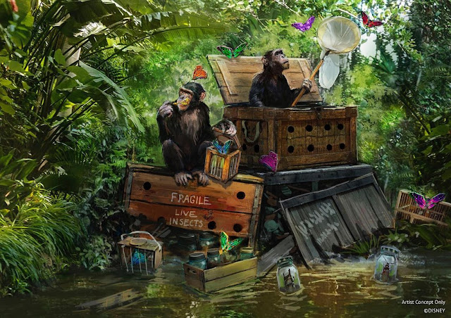 Jungle-Cruise-New-Concept-Arts-and-Updates-from-Zach-Riddley, WDI, Imagineering