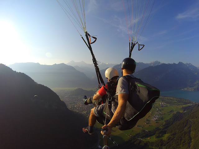paraglide, interlaken, Safety net, working, 9-5, travel, travelling, traveling, risks, regret, reward, get busy living, one life, paraglide, mountains, inspiration, motivation, quit work and travel the world, backpacking, alternative lifestyles, digital nomad, nomadic lifestyle, travel for work, travel lifestyle, freedom, hippie, chains, self imposed, question normality,