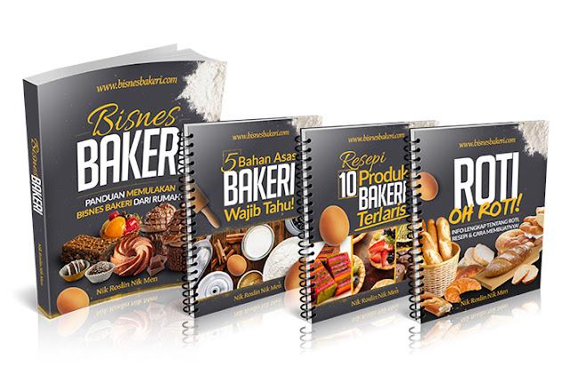 Cara Mula Bisnes Bakeri Dari Rumah (Step by Step)