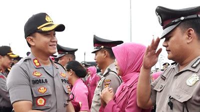 Selamat! 138 Personel Polres Serang Dapat Kenaikan Pangkat