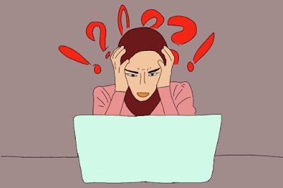 EARNING ADSENSE TAK BERGERAK?, muka bingung