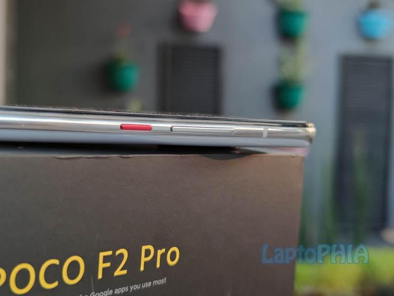 Desain Poco F2 Pro