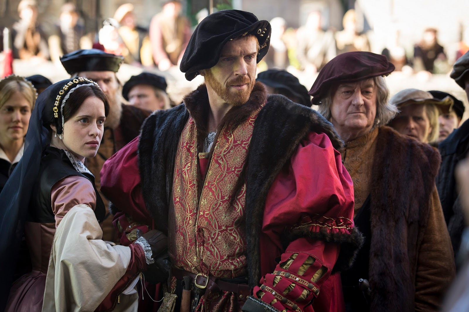 Nigel Fisher's Brigg Blog: WOLF HALL COSTUME DISPLAY JUST A TRAIN RIDE AWAY  FROM BRIGG