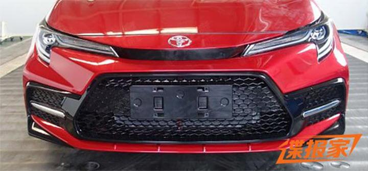 Lộ ảnh Toyota Corolla mới lắp động cơ tăng áp