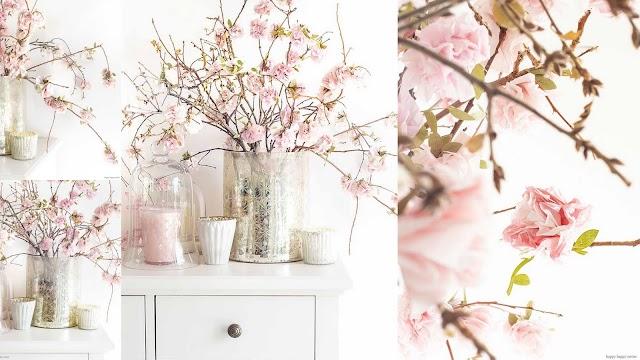 DIY Διακοσμητικά μπουκέτα με χάρτινα λουλούδια