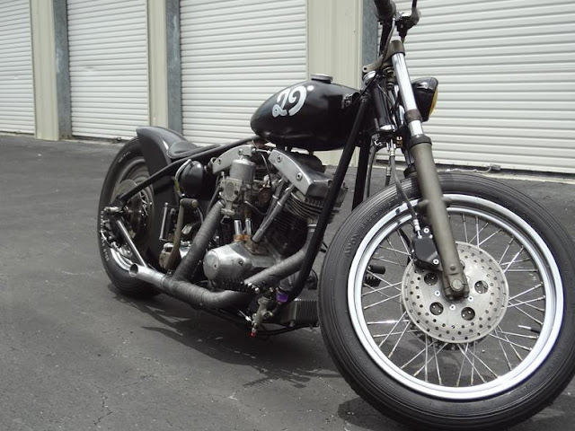 Harley Davidson Shovelhead 1979 By Tamiami Tyrants Custom Cycles Hell Kustom