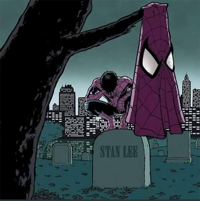 People From All Around The World Share Tribute Art In Honor Of The Marvel Legend Stan Lee