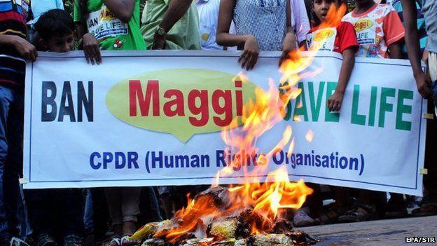 Ban on maggi