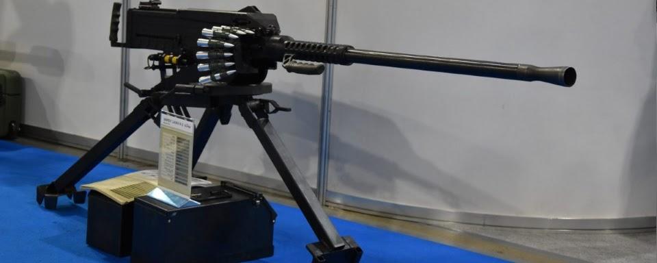 Новий великокаліберний кулемет Snipex Laska K-2