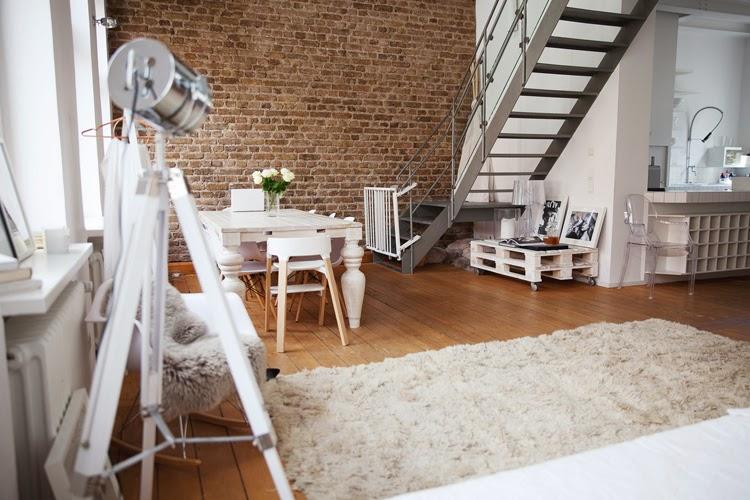 Decoracion Facil Palets Para Decorar Un Loft - Decoracion-loft