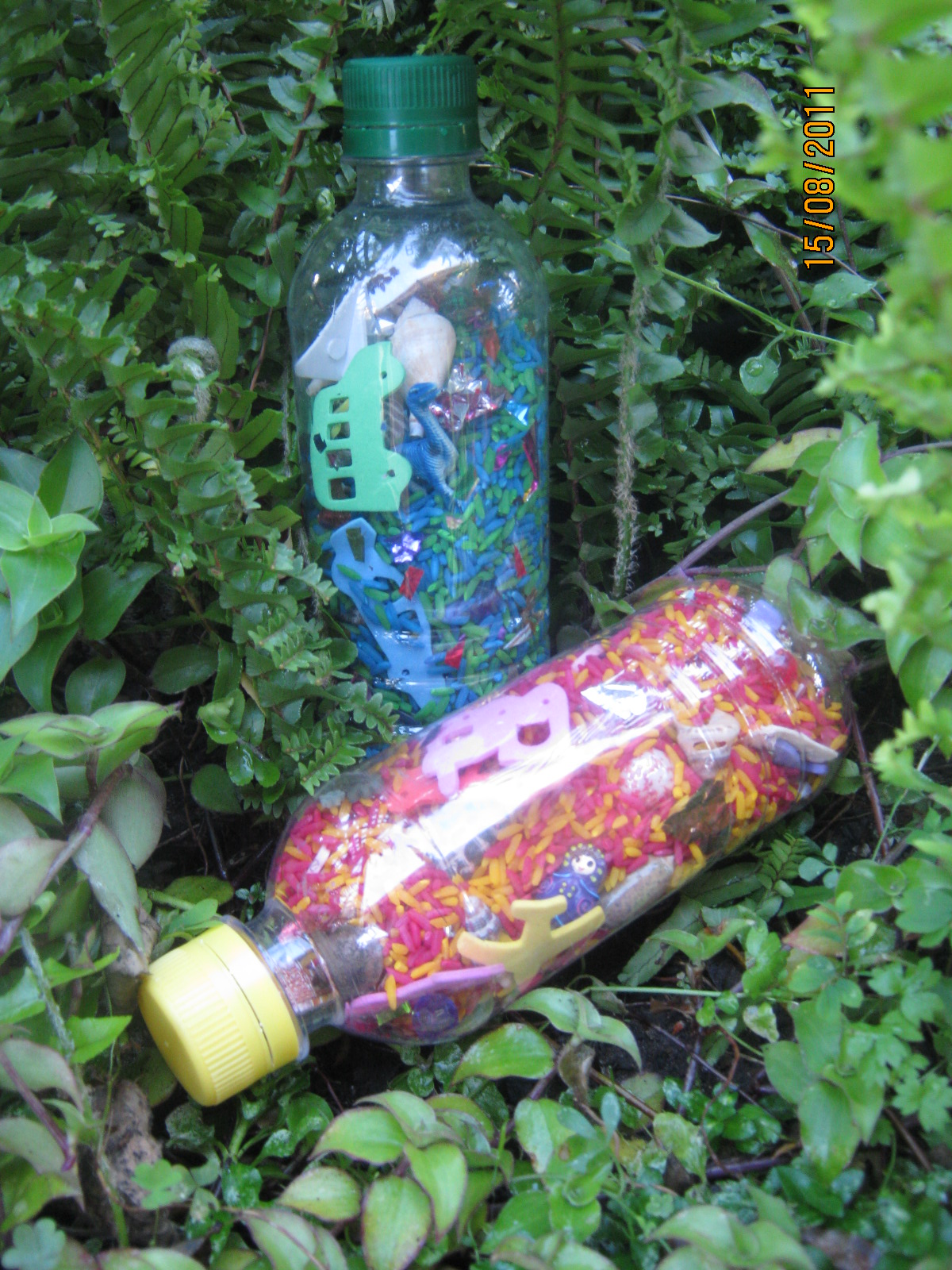Sublime Shambles Of A Shell Personalised Eye Spy Rice Bottles