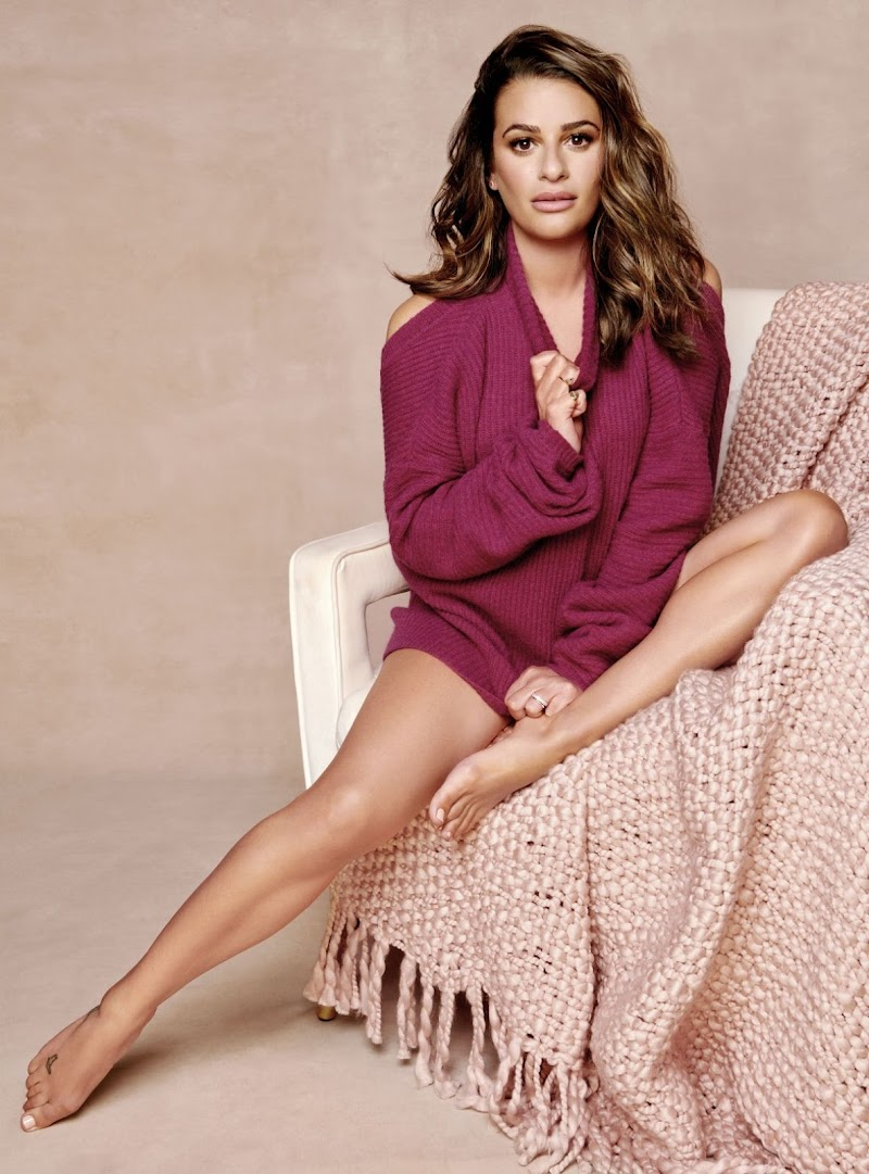 Lea Michele Clicked For Health Magazine-  October 2019