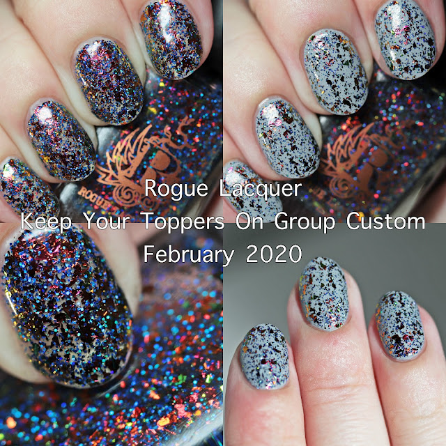 Rogue Lacquer Keep Your Toppers On February 2020 Group Custom