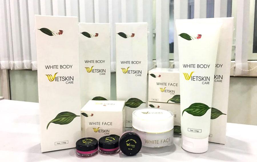 White Body Vietskin Care, giúp làm sạch và dưỡng da, làm mềm mịn da