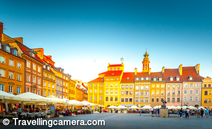 I found Old Town of Warsaw very interesting and it's Market Square is very special, which is must visit and one should some time around it. There are plenty of things that you can do around Old Town Market Square of Old Town.     Old Town is the place which was impacted during World War 1 and Germany Army had changed a lot in this area of Warsaw City. Later on, restoration work happened that building were brought back to their older look, although doing justice to it's originality was certainly am impossible task.