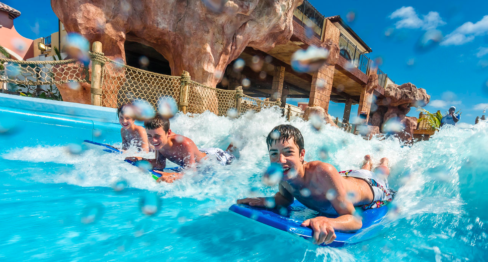 Holiday Ideas for Families with Tweens  - Pirate Waterpark Caribbean