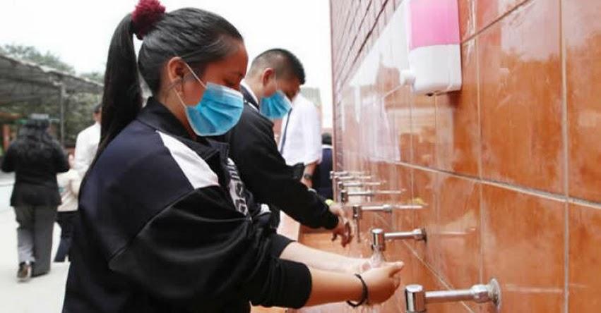 Con miras al Buen Retorno al Año Escolar, MINEDU instalará lavamanos en 15 mil colegios y distribuirá mascarillas y protectores faciales a estudiantes