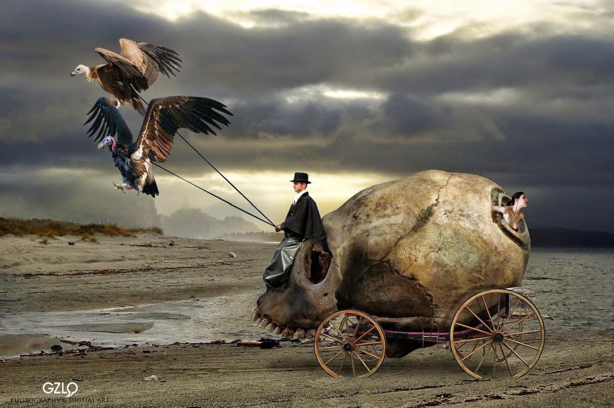 Car Lavera.  Fantasy Art de Gonzalo Villar