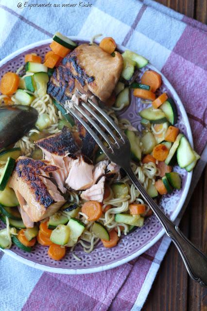 Experimente aus meiner Küche: Zucchini-Möhren-Gemüse