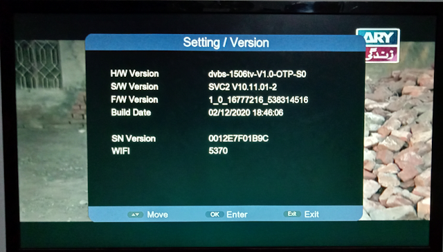 FOREVER 999TV 1506TV 512 4M NEW SOFTWARE WITH ECAST & G SHARE PLUS V2 OPTION