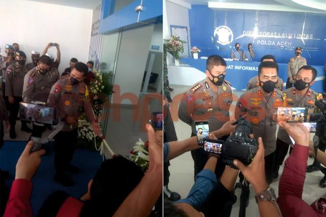 Kapolda Aceh Resmikan Gedung Direktorat Lalu Lintas Polda Aceh