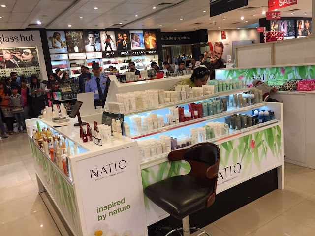 NATIO is now available at Shopper Stop, Ambience Mall Vasant Kunj