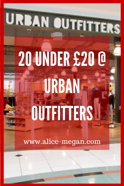 20 under £20 @ Urban Outfitters