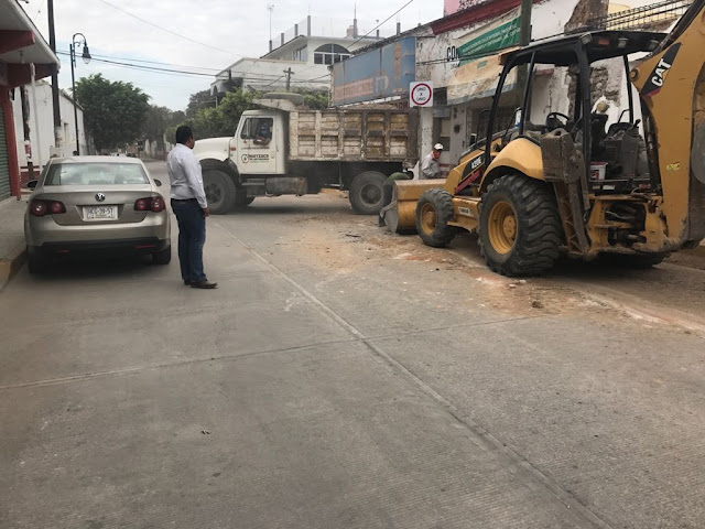 Instalan brigadas para retirar escombro y demoler viviendas dañadas por simo del 11S