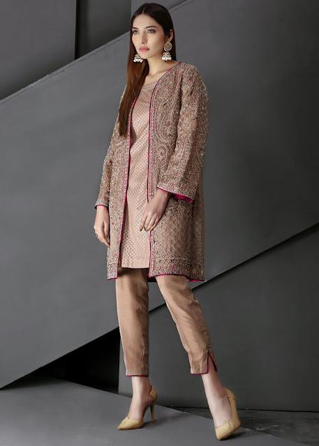 HSY Blush pink luxury pret dress