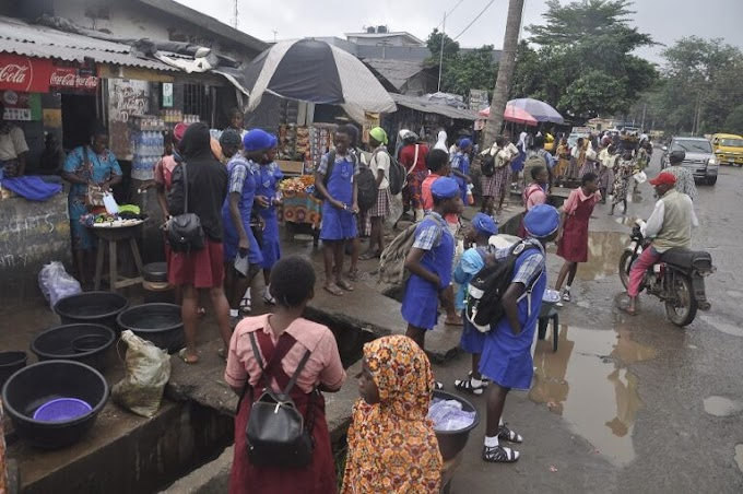See Reactions As Students Return To School First Time In 6 Months