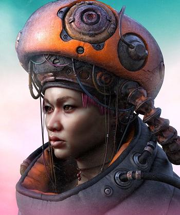 """NIIM"" - OOMOU characters by Andy Lee | imagenes chidas de arte digital, personajes de novela grafica, comic"