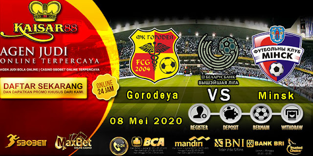 Prediksi Bola Terpercaya Liga Belarus Premier FK Gorodeya vs FC Minsk 8 Mei 2020
