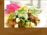 Kota Padang ternyata mempunyai bermacam-macam kejutan ya bunda Resep Gado-Gado Padang Amboyyy Sedapnya