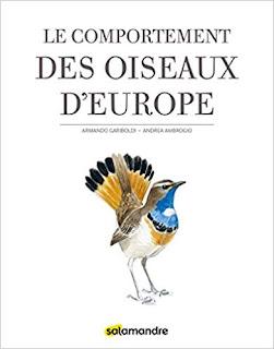le comportement des oiseaux d'europe - Gariboldi, Ambrogio - la salamandre - plumages.fr