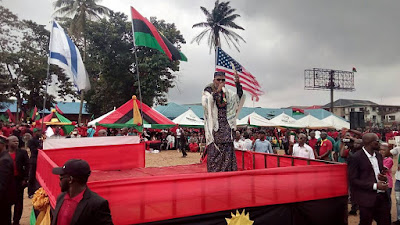 Biafra: Anyone who dares to arrest me will die - Nnamdi Kanu