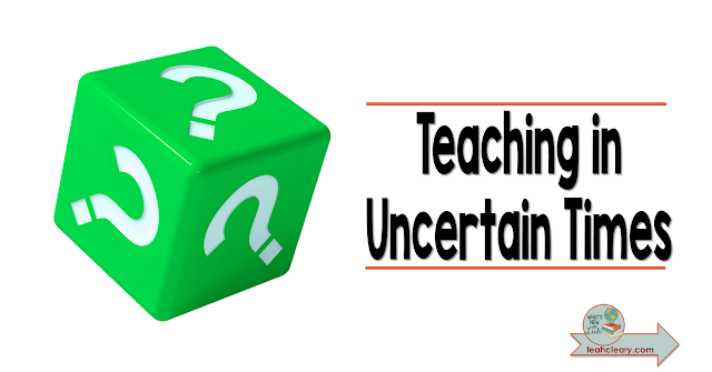 2020 has been a pivotal year in education. We don't know what to expect for the next or future school years. But we can do our best to be proactive. Join me for this five part series on Teaching in Uncertain Times. Let's take this leap together!