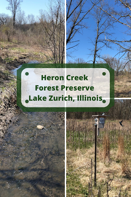 Surrounded by Nature at Heron Creek Forest Preserve in Lake Zurich, Illinois