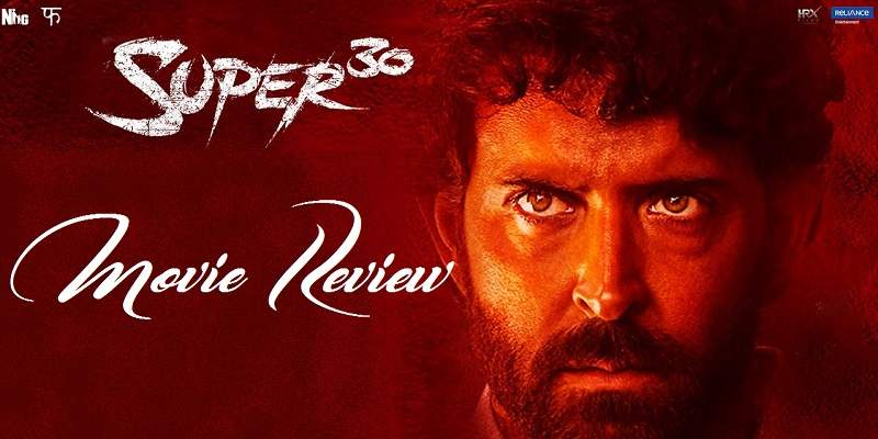 Super 30 Movie Review Poster