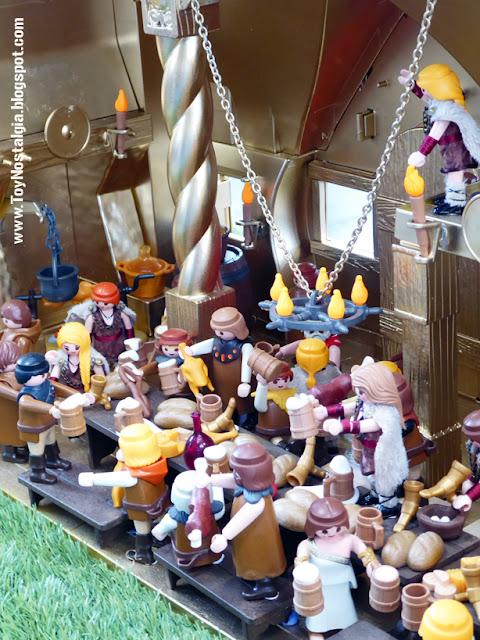"""Diorama Playmobil Vikingos """"Ragnarok y Vilhalla""""  (Cocheras de Sants - 2019)"""